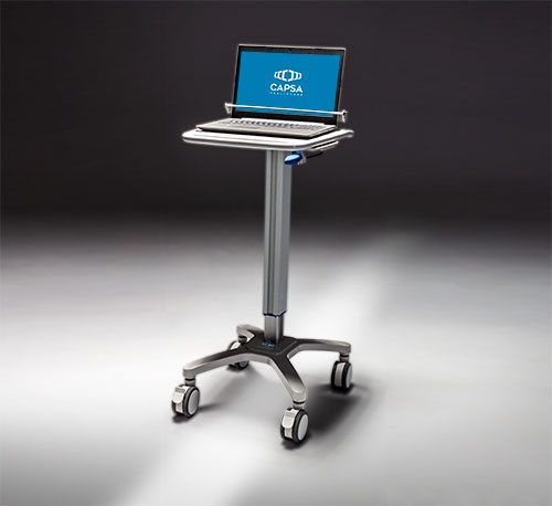 carro medico slim cart completo