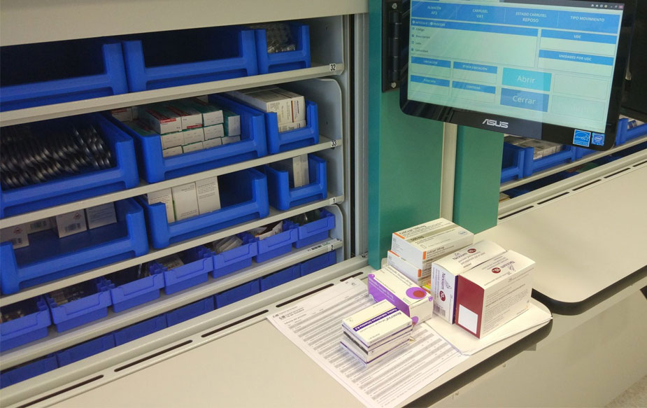 logistica de medicamentos en hospitales