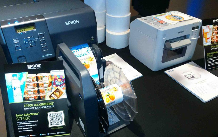 impresoras de etiquetas colorworks de epson